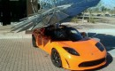 Lotus Mobile solar charging array (Image: Monarch Power)