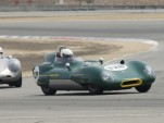 1956 Lotus Eleven at Laguna Seca, Credit: Historicmotorprints.com