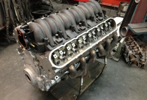 LS12 V-12 engine. Image via V12Baker at LS1Tech.com.