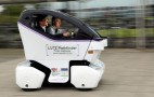 Self-driving pod cars take to UK streets