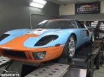 M2K Motorsports twin-turbo Ford GT on the dyno