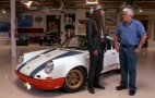 Magnus Walker Brings His Porsche 911 72STR 002 To Jay Leno's Garage: Video