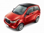 Mahindra e2o electric car