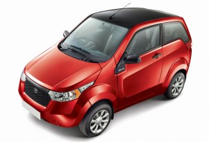 Mahindra E2O Electric Minicar Launches In India, Nee Reva NXR