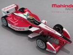 Mahindra Racing Formula E electric race car