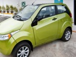 Reva NXR Indian Electric Car Closer To Launch: Spy Shots