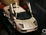Maisto's Lamborghini Murcielago, encrusted with Swarovski crystals