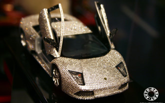 Crystal-Studded Lamborghini Fit For A (Drag) Queen