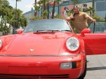 Manny Ramirez and his 1994 Porsche 911 Turbo 964