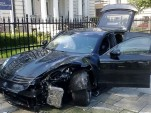 Mansory Porsche Panamera crash in Poland