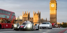 How to promote a Porsche hybrid? Bring its Le Mans sibling into rush-hour traffic
