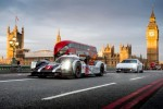 Mark Webber hits London in a Porsche 919 Hybrid
