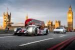 Mark Webber hits London in a Porsche 919 Hybrid