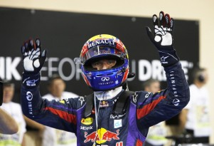 Mark Webber waves goodbye after his final race in Formula One