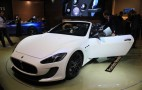 Maserati GranTurismo Convertible MC Live Photos: 2012 Paris Auto Show