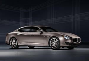Maserati Quattroporte Ermenegildo Zegna Limited Edition concept, 2013 Frankfurt Auto Show