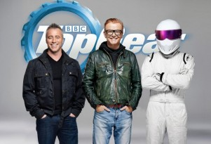 Matt LeBlanc, Chris Evans and the Stig