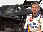 Matteo Romano talks about the Magneti Marelli Fiat 500 Abarth