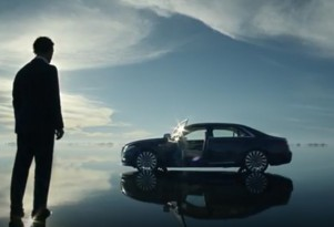 Matthew McConaughey in ad for 2017 Lincoln Continental