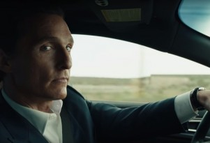 Matthew McConaughey stars in the latest series of Lincoln ads.