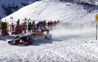 Watch A Red Bull F1 Car Hit The Slopes: Video