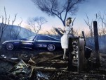 Maybach shot by David LaChapelle, featuring Daphne Guiness