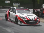 Mazda 3 MPS Rotary Hill Climb race car has a 630-hp rotary engine