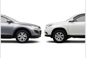 Mazda CX-9 Vs. Toyota Highlander: Compare Cars