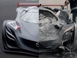Mazda Furai burned - Image via Top Gear