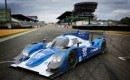 Mazda/Lola LMP2 car at Le Mans - Courtesy Mazda