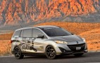 Mazda5 Mazda Raceway Laguna Seca Support Vehicle At SEMA