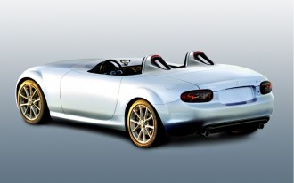 2009 Frankfurt Auto Show: Superlight Mazda MX-5 Miata