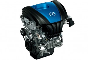 Mazda SKYACTIV-G 1.3 direct-injection gasoline engine