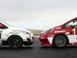 Mazda2 and Honda Fit B-Spec prototype cars