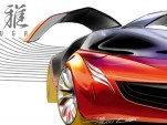 Mazda&amp;#8217;s gullwing Ryuga concept to debut at NAIAS