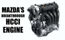 Mazda HCCI engine