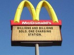 Want Electrons With That? McDonald's To Charge Electric Cars