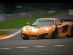McLaren 12C GT3 prepares for the 2012 24 Hours of Spa