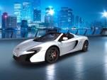 McLaren 650S configuration app