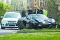 McLaren 650S Spider that crashed 10 minutes after delivery - Image via Brentwood Gazette