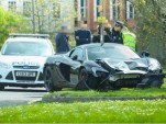 McLaren 650S Spider that crashed 10 minutes after delivery - Image credit, Joshua Latchford