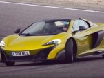 McLaren 675LT Spider hits the track