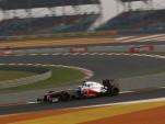 McLaren at the 2012 Formula 1 Indian Grand Prix