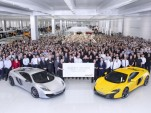 McLaren Celebrates 5000th Super Series Car