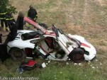 McLaren F1 crashed in Italy