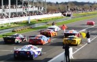 Nine McLaren F1s Take To The Track: Video