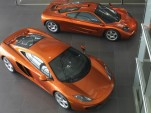 McLaren MP4-12C and F1 supercars