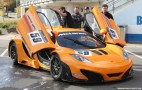 McLaren MP4-12C GT3 Starts Testing At The Nurburgring