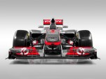McLaren MP4-27 2012 Formula 1 race car