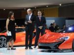 McLaren P1, 2012 Paris Auto Show